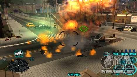 C-HUD Candy Project para GTA San Andreas sucesivamente de pantalla