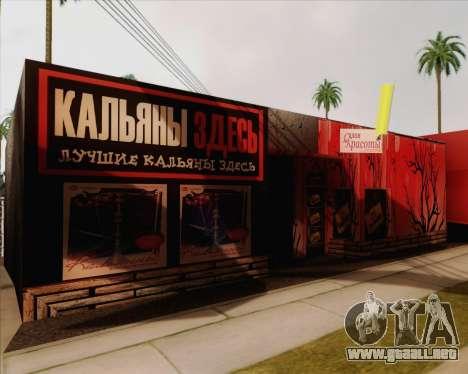 Nuevas texturas Binco para GTA San Andreas segunda pantalla