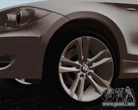 BMW 120i para GTA San Andreas left
