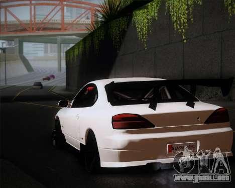 Nissan Silvia S15 JDM para visión interna GTA San Andreas
