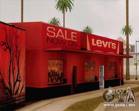 Nuevas texturas Binco para GTA San Andreas tercera pantalla