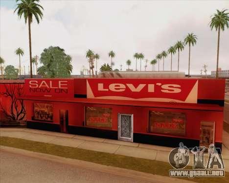 Nuevas texturas Binco para GTA San Andreas