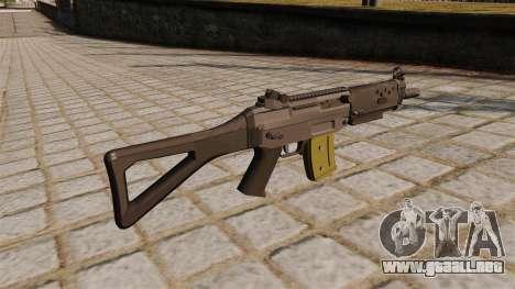 Automática SIG SG 552 Commando para GTA 4 segundos de pantalla