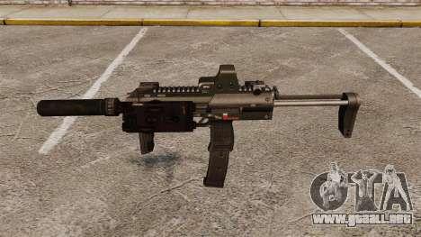 Ametralladora HK MP7 Sopmod para GTA 4 tercera pantalla