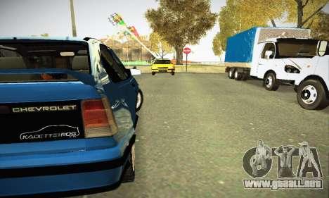Chevrolet Kadett GS 2.0 para la visión correcta GTA San Andreas