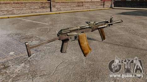 AK-47 v8 para GTA 4 segundos de pantalla