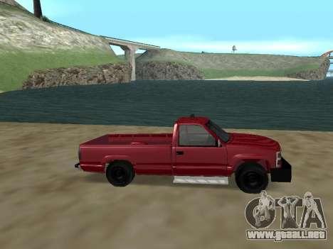 Chevrolet Silverado ATTF para GTA San Andreas left