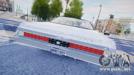 Chrysler New Yorker 1971 para GTA 4 vista superior