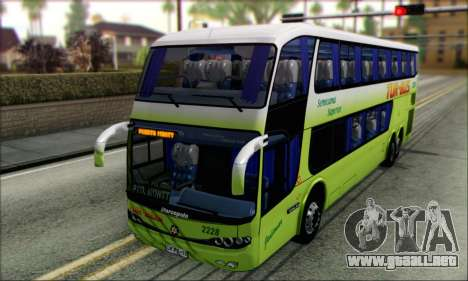 Marcopolo Paradiso G6 Tur-Bus para GTA San Andreas