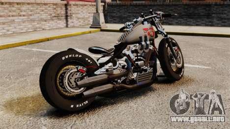 Harley-Davidson Knucklehead v1 para GTA 4 left