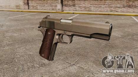 V5 pistola Colt M1911 para GTA 4