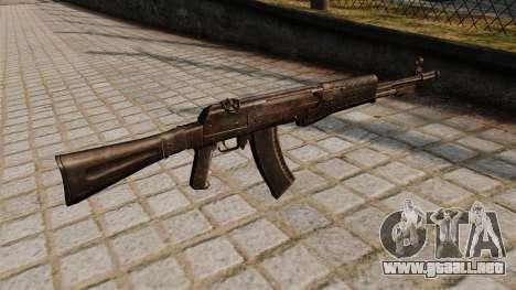 El fusil de asalto an-94 Abakan para GTA 4 segundos de pantalla