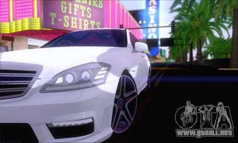 Mercedes-Benz S65 AMG para la visión correcta GTA San Andreas