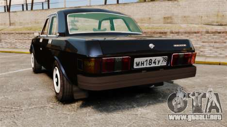 Gaz-31029 para GTA 4 Vista posterior izquierda