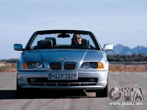 Nuevas pantallas de carga BMW para GTA San Andreas segunda pantalla