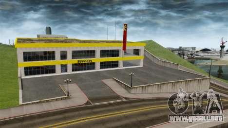 Salón del automóvil de Ferrari para GTA 4