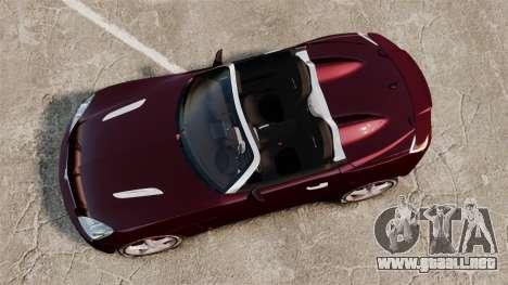 Saturn Sky Red Line Turbo para GTA 4 visión correcta