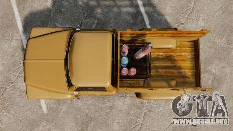Hot Rod Truck Gas Monkey para GTA 4 visión correcta