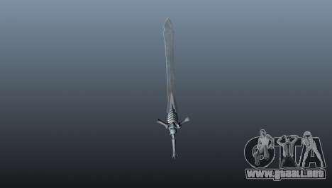 Espada de rebelión para GTA 4