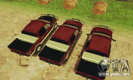 Ford F-150 KING RANCH Edition 2010 para visión interna GTA San Andreas