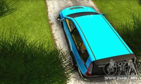 Mitsubishi Evo IX Wagon S-Tuning para visión interna GTA San Andreas