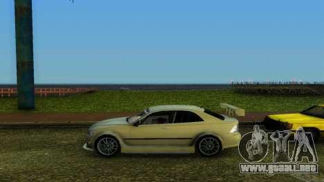 Lexus IS200 para GTA Vice City vista interior