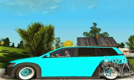 Mitsubishi Evo IX Wagon S-Tuning para la visión correcta GTA San Andreas