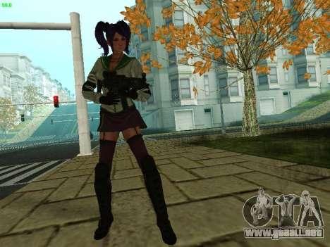Juliet Starling para GTA San Andreas segunda pantalla