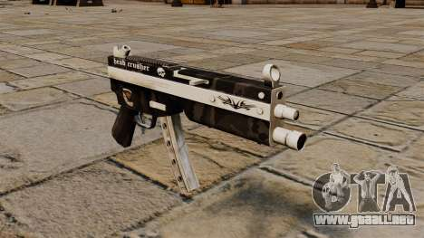 La metralleta MP5 Head Crusher para GTA 4