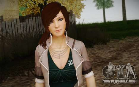 Remember Me Alexia para GTA San Andreas segunda pantalla