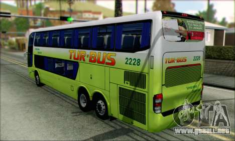 Marcopolo Paradiso G6 Tur-Bus para GTA San Andreas left