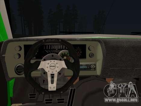 Ford Falcon Sprint para GTA San Andreas vista posterior izquierda