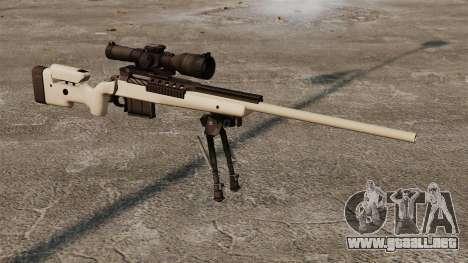 Rifle de francotirador McMillan TAC-300 para GTA 4