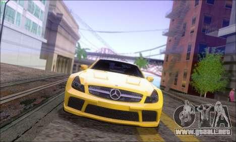 Mercedes-Benz SL65 AMG GB para GTA San Andreas vista posterior izquierda