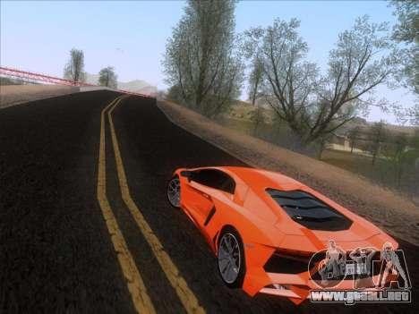 Lamborghini Aventador LP720-4 2013 para GTA San Andreas left