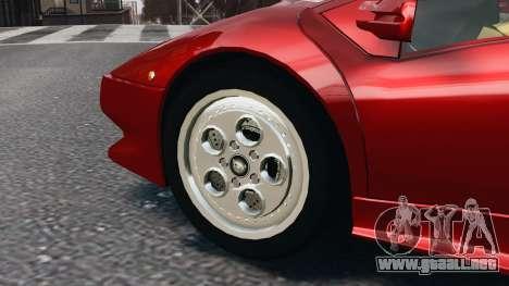 Lamborghini Diablo VT 1994 para GTA 4 left