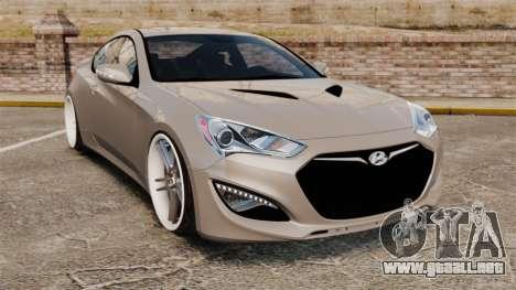 Hyundai Genesis Coupe 2013 para GTA 4