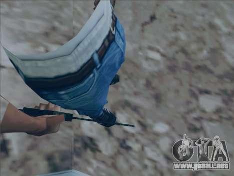 Battlefield 2142 Knife para GTA San Andreas segunda pantalla