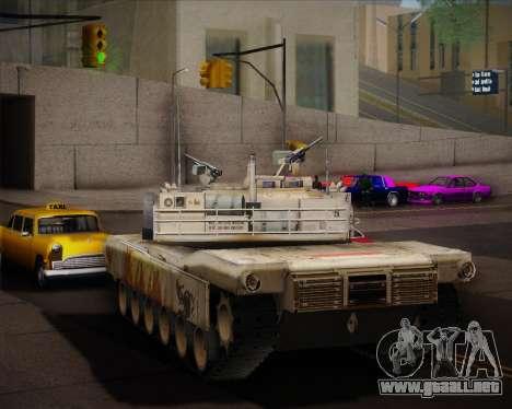 Abrams Tank Indonesia Edition para la visión correcta GTA San Andreas