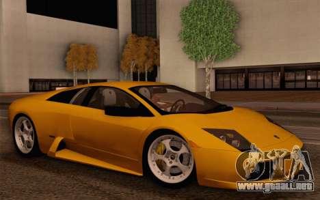 2005 Lamborghini Murciélago para GTA San Andreas interior