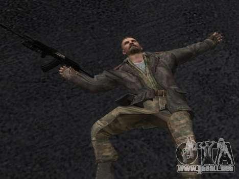 Viktor Reznov para GTA San Andreas sexta pantalla