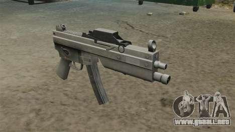 Subfusil MP5 actualizado para GTA 4