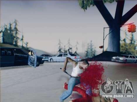 Battlefield 2142 Knife para GTA San Andreas sexta pantalla