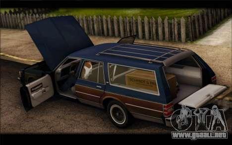 Chevrolet Caprice 1989 Station Wagon para la visión correcta GTA San Andreas