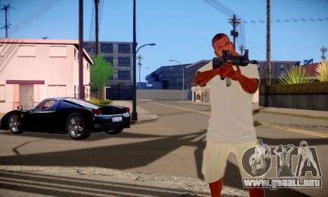 Franklin HD para GTA San Andreas sucesivamente de pantalla