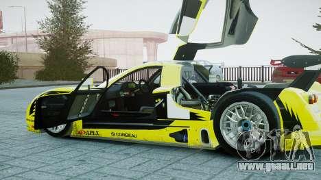 Nissan R390 GT1 para GTA 4 vista interior