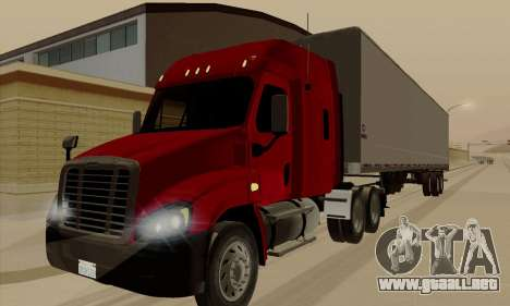 Freghtliner Cascadia para GTA San Andreas