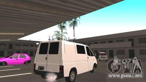 Renault Trafic para la visión correcta GTA San Andreas
