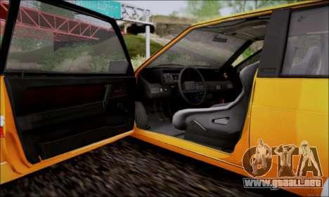 VAZ 21083 baja Classic para vista lateral GTA San Andreas