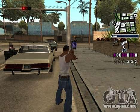 (C) HUD-por Gabbi_Stafford para GTA San Andreas tercera pantalla